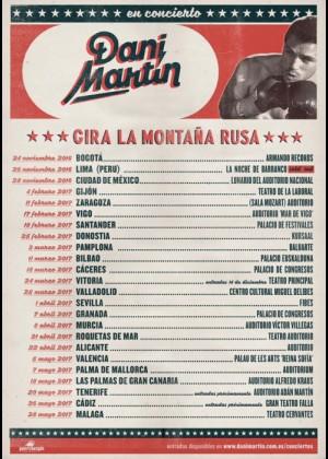Concierto de Dani Martín en Roquetas de Mar