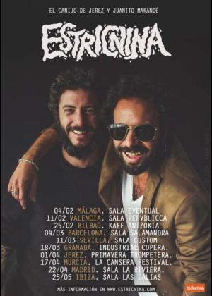 Concierto de Estricnina en Málaga