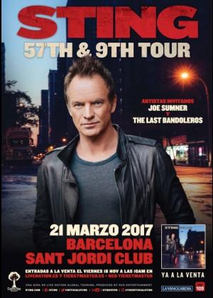 Concierto de Sting en Barcelona