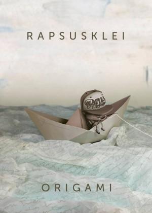 Cartel en baja resolución del Concierto de Rapsusklei en Barcelona