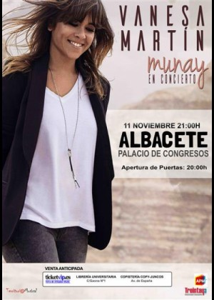 Concierto de Vanesa Martín en Albacete