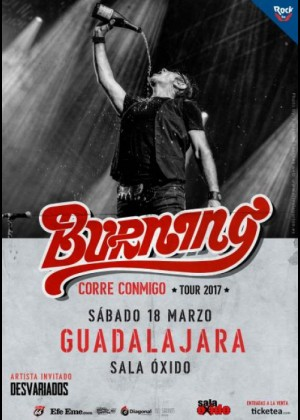 Concierto de Burning en Guadalajara