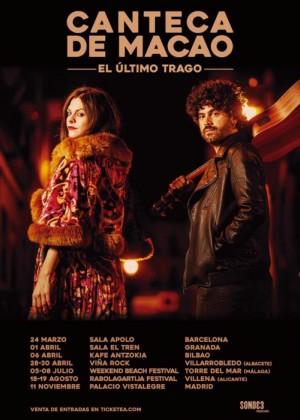 Concierto de Canteca de Macao en Bilbao