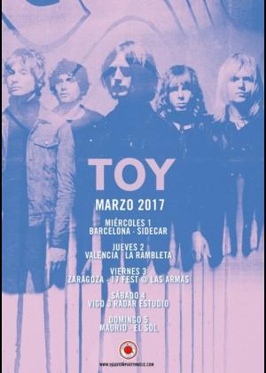 Concierto de Toy en Zaragoza