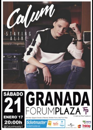 Concierto de Calum en Granada