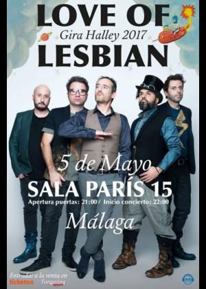 Concierto de Love of Lesbian en Málaga