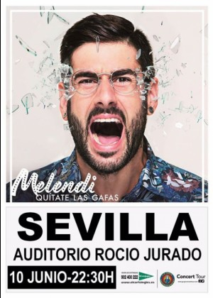 Concierto de Melendi en Sevilla