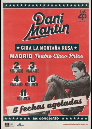 Concierto de Dani Martín en Madrid