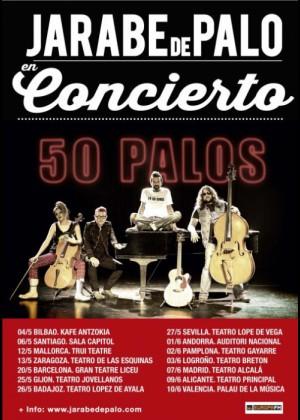 Concierto de Jarabe de Palo en Zaragoza