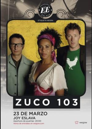 Concierto de Zuco 103 en Madrid