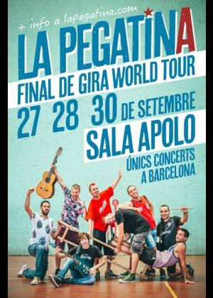 Concierto de La Pegatina en Barcelona