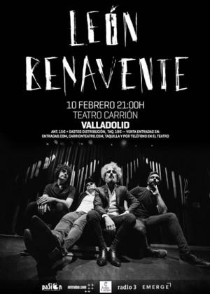Concierto de León Benavente en Valladolid