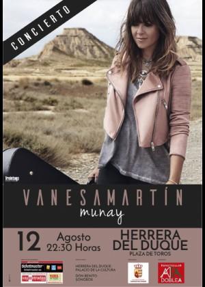 Concierto de Vanesa Martín en Herrera del Duque (Badajoz)