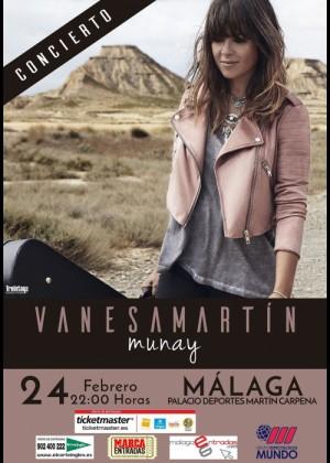 Concierto de Vanesa Martín en Málaga