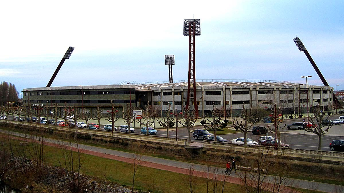 Logo de Estadio Municipal Reino de León