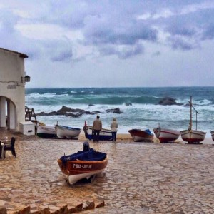 Platja de Port Bo de Calella de Palafrugell